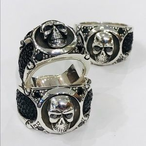 Other - Sterling silver skull ring